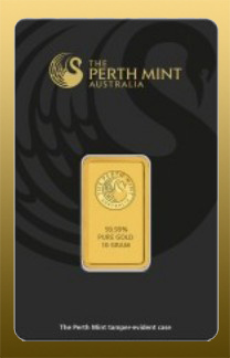 Tehlička Perth Mint 10 g 999,9/1000