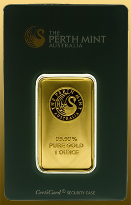Tehlička 100 g Perth Mint