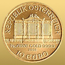 Wiener Philharmoniker 1/10 Oz 999,9/1000 Au