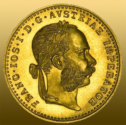 Rakúsko 1 Dukát (986/1000 Au) - novorazba 3,44 g čistého Au