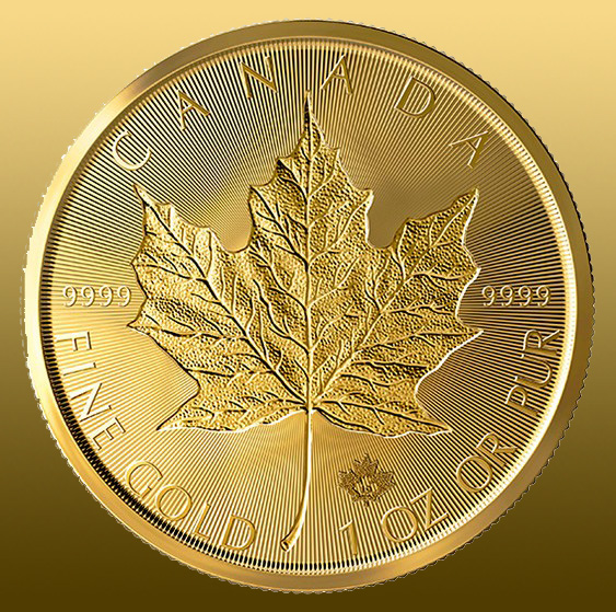 e138eeecc Maple Leaf 1 Oz - Incuse 2019 ...