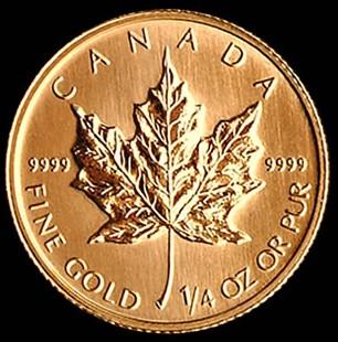Maple Leaf 1/4 Oz