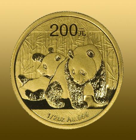 China Panda 30 gramov 30 g 999,9/1000 Au ročník 2019