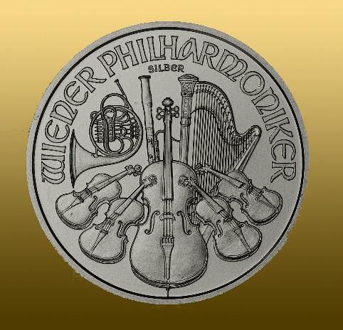 Silver Wiener Philharmoniker 1 Oz v prípade nákupu menšieho množstva