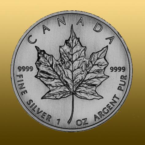 Silver Maple Leaf 1 Oz pri odbere 25 a viac kusov