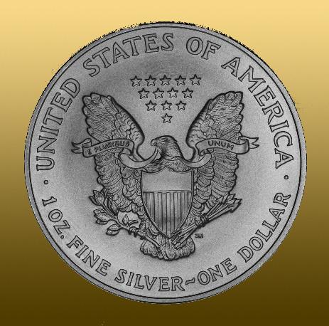 Silver American Eagle 1 Oz 999/1000 Ag - ročník 2019