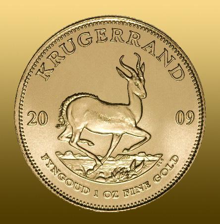 Krugerrand 1 Oz (1 Oz čistého Au)